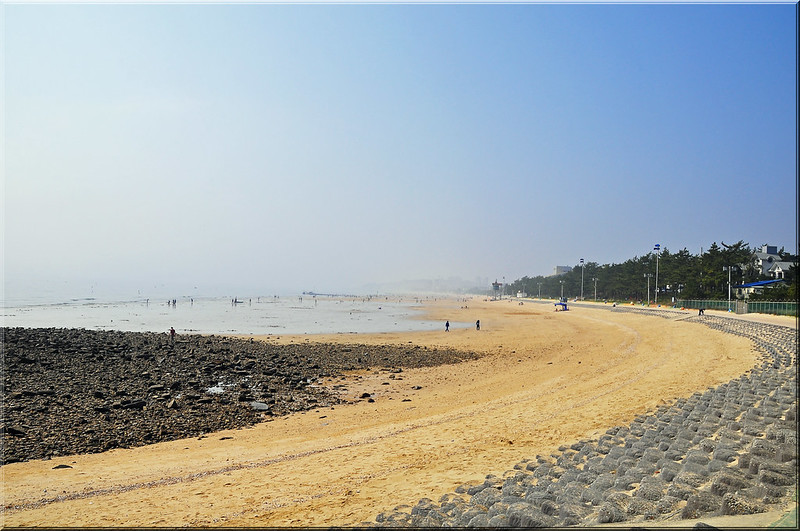 Hazy Day at Daecheon Beach, Korea