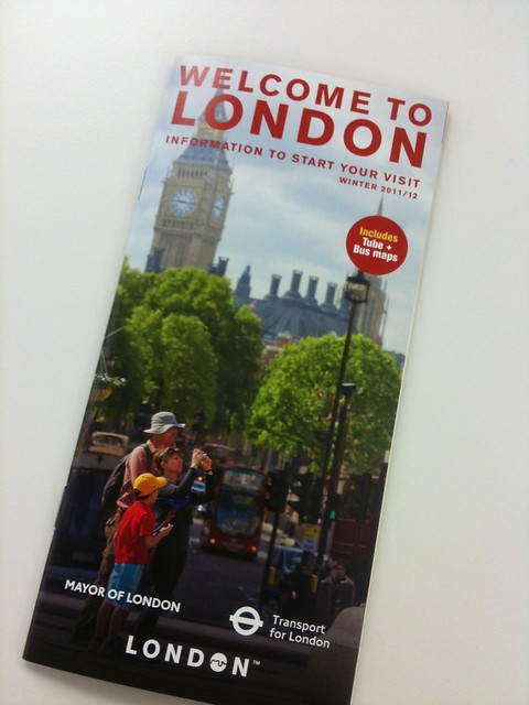 visitor leaflet welcome london