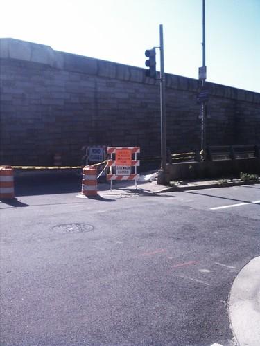 Old 11th street bridge closed