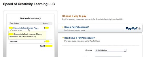 Discounted License Pricing Via PayPal
