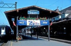 * Schweiz  BLS  161  bis  Tm 93