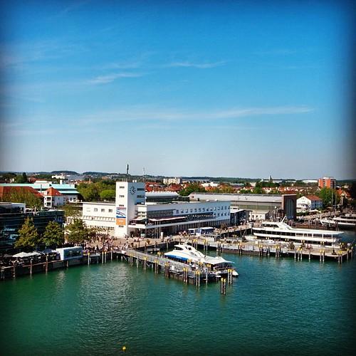 Hafenbahnhof in Friedrichshafen