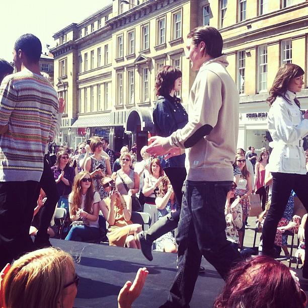 Newcastle Fashion Week Barbour Show #nefollowers #newcastle
