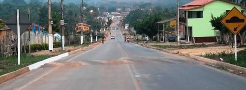 Estrada de Mojuí dos Campos. Foto: VILBERTO SÁ