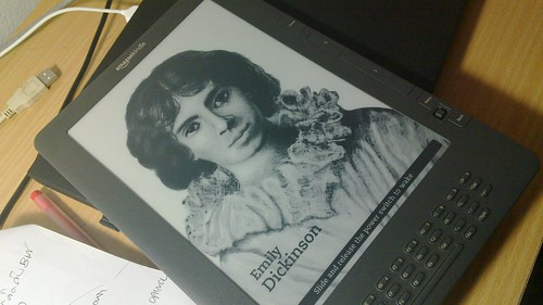 Kindle-4 DX,First screen when kindle shutdowns desktop.
