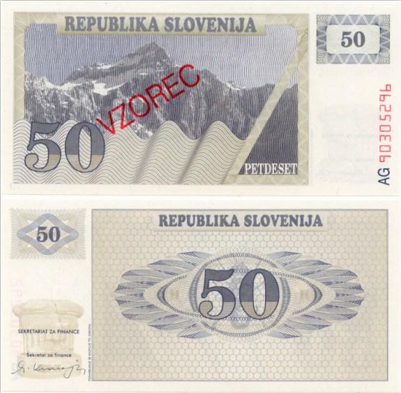 5 Toliarov Slovinsko 1990, VZOREC Pick 5s1
