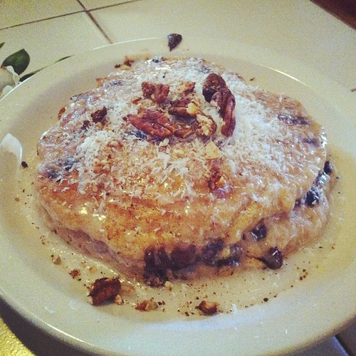 Chocolate Chip Cookie Pancake by Postcards from UAC