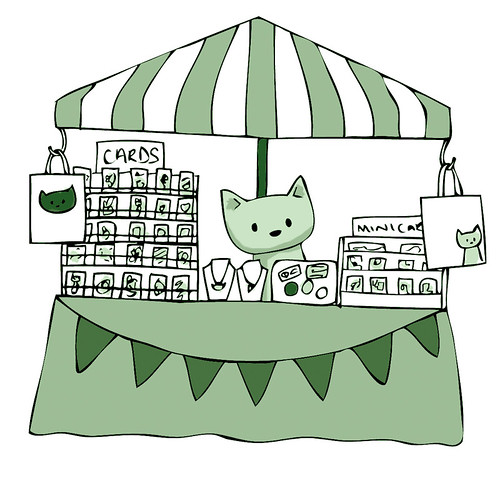Doodlecats at the Big Green Week