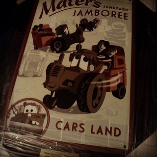 Gift from Disney : Cars Land Preview
