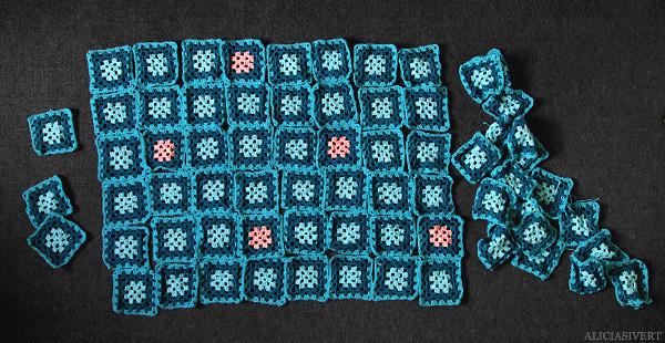 aliciasivert, alicia sivertsson, craft, creativity, handicraft, crochet, granny squares, mormorsruta, mormorsrutor, virka, virkad, virkat, filt, handarbete, garn hantverk, Dumbledorefilt