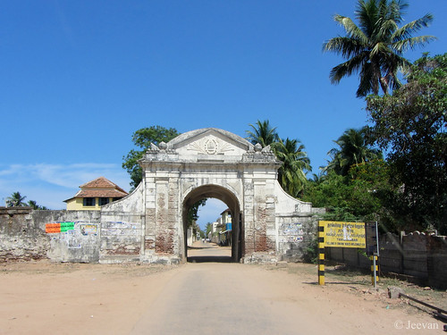 Gateway of Danish Fort
