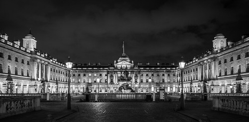 Sun has set on Somerset house...