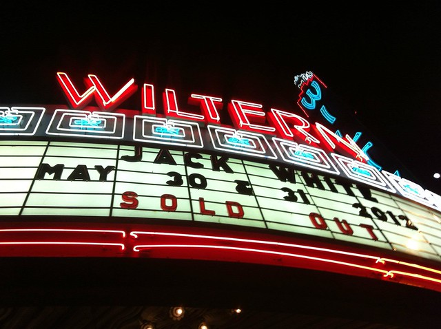 Jack White @ The Wiltern 001