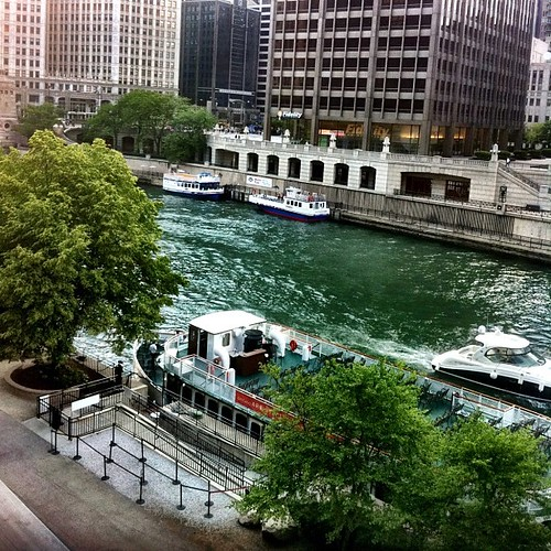 Chicago River by Abigail Harenberg
