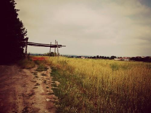 strada natura campagna campo monte chiesetta agricolo