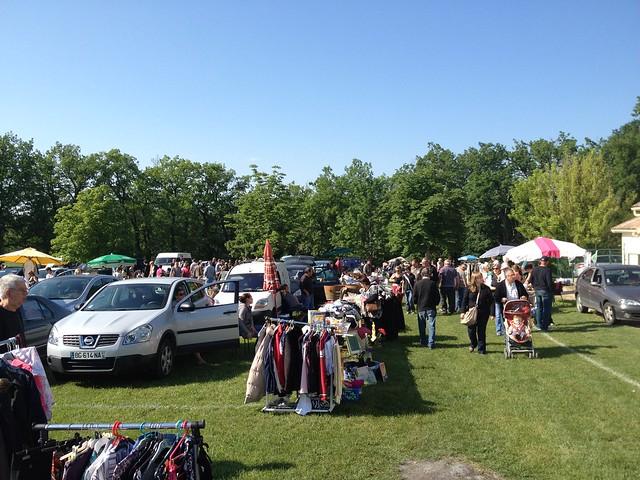 "Vide Grenier - a ""boot sale"" style flea market - in Monflanquin"