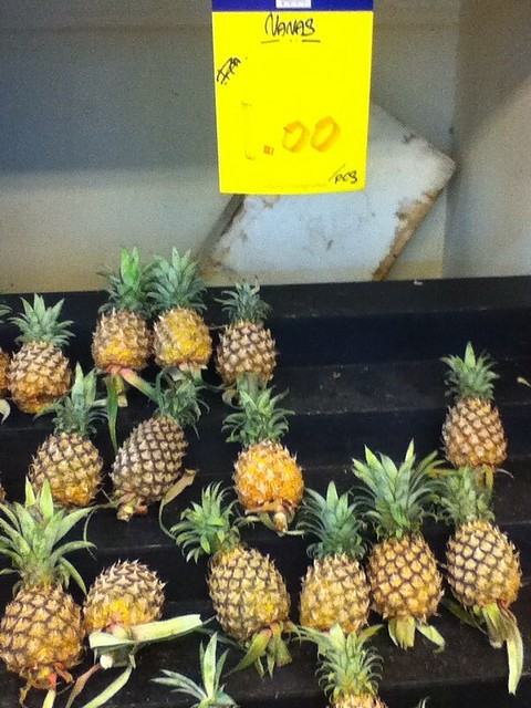 Pineapples RM1 each