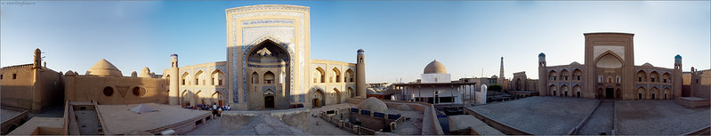 Muhammad Rahimkhan Madresseh panorama