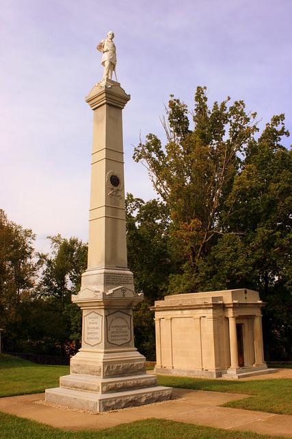 Zachary Taylor Statue at his Burial Site