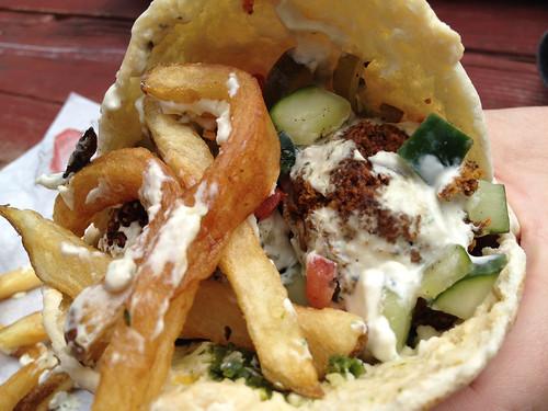 Falafel from Gonzo
