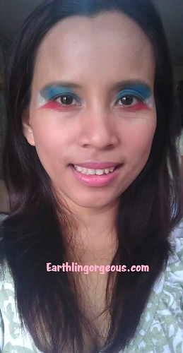 EG FOTD Eye Wear My Flag Proud Filipino Independence Day look