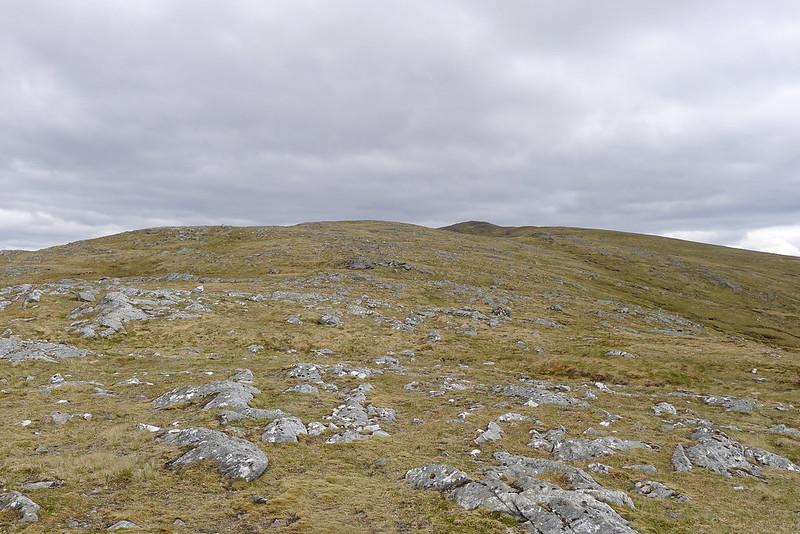 The northern ridge of Carn Dearg