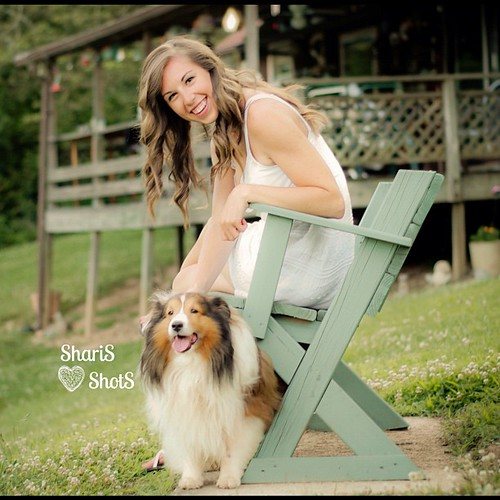 Another fav from the Senior Shoot with @lnvancle12 & Cody Lou. #lovely #seniorshoot #instagood #dog #shelty #collie