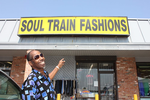 Walter Wolfman Washington at Soul Train Fashions. Photo by George Ingmire.