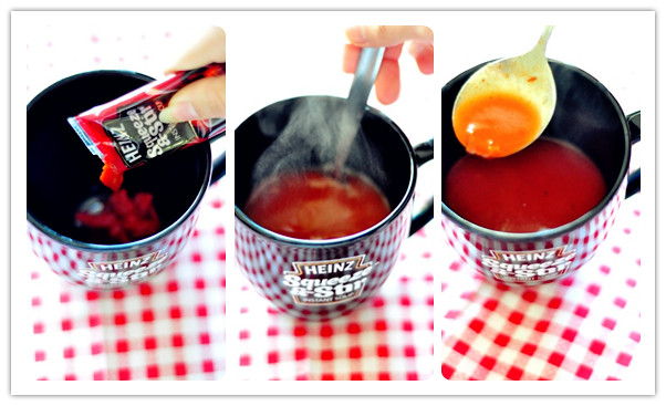 Heinz Squeeze & Stir Instant Soup