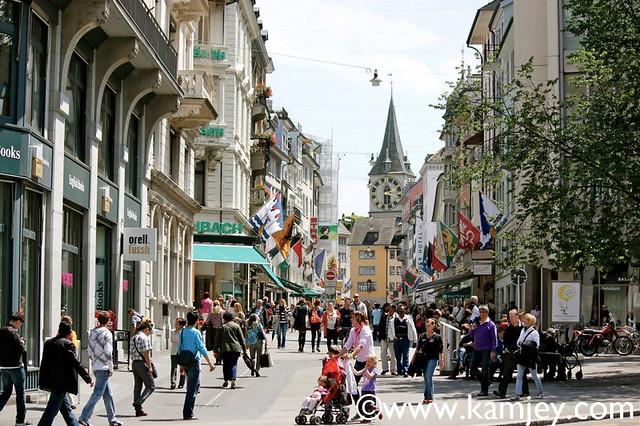 Zurich street life | Flickr - Photo Sharing!