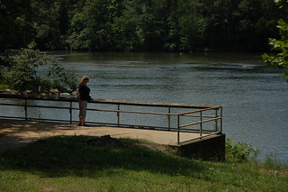 Glynda at the Broad River