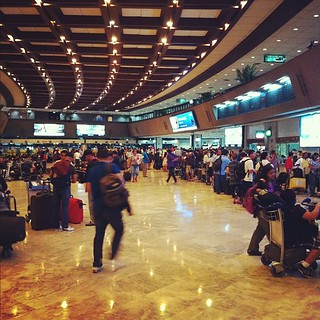 "Ninoy Aquino International Airport would like to say ""Welcome to 1970."""