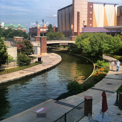 Riverwalk in Bricktown