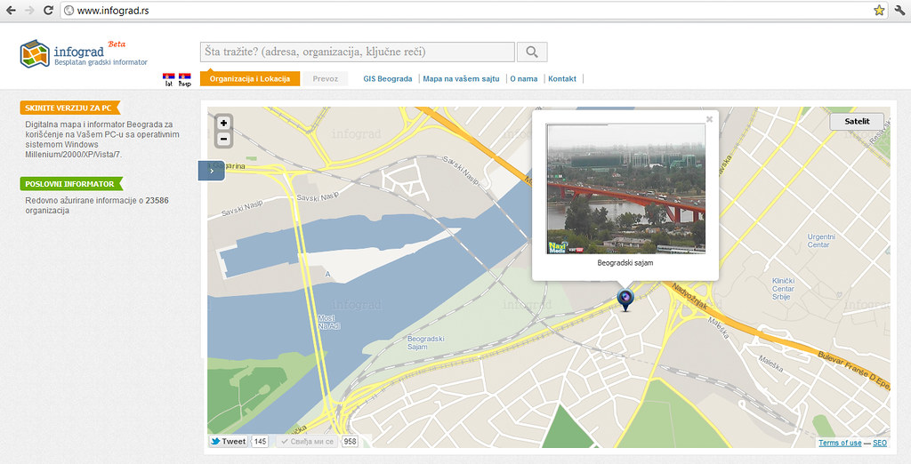 mapa beograd satelit Infograd's most interesting Flickr photos | Picssr mapa beograd satelit