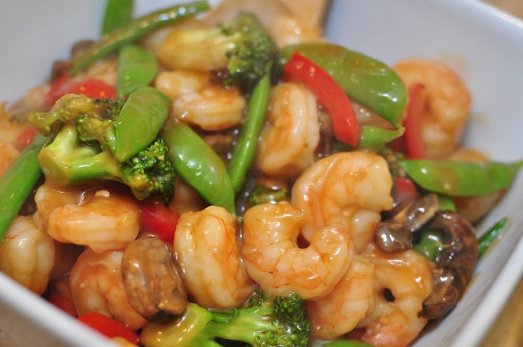 Sesame Shrimp Stir Fry