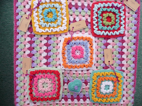 Karin (Netherlands) Has sent 'Wiggles' Squares' which I need for one of our Challenges. Thank you they are gorgeous!