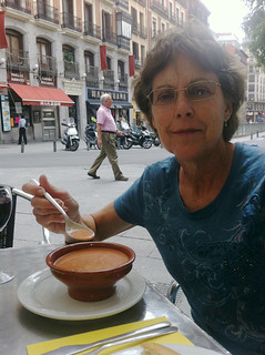 Gazpacho in Madrid