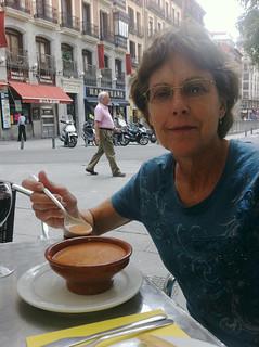 Gazpacho in Madrid