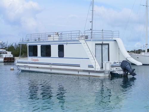No boat, no problem, mon