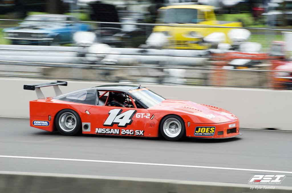 Rose Cup Race 2012 - Nissan 240SX - Panning