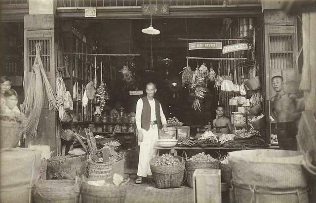 SAIGON 1931 - EPICERIE CHINOISE