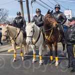 Bergen County Sheriff Mounted Unit , 2014 Bergen County St. Patrick`s Day Parade, Bergenfield, New Jersey