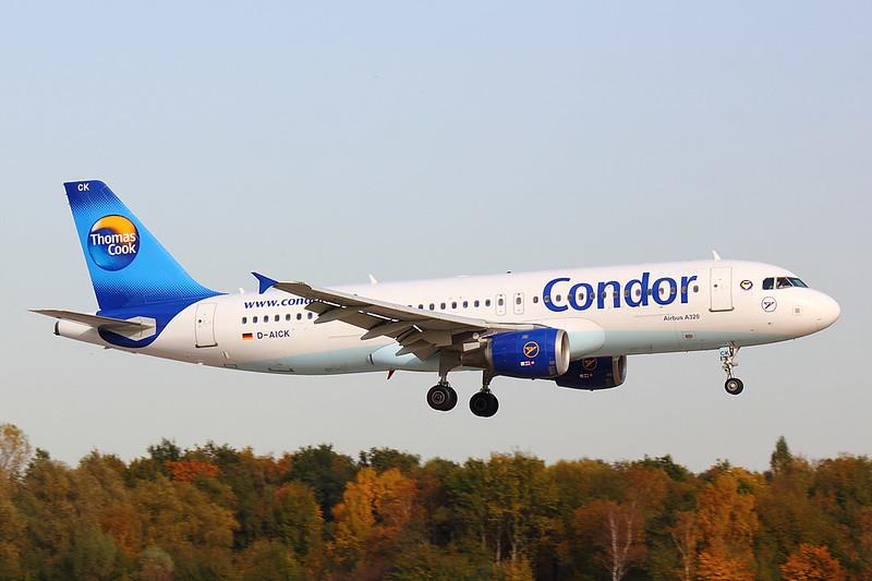 Condor - A320 - D-AICK