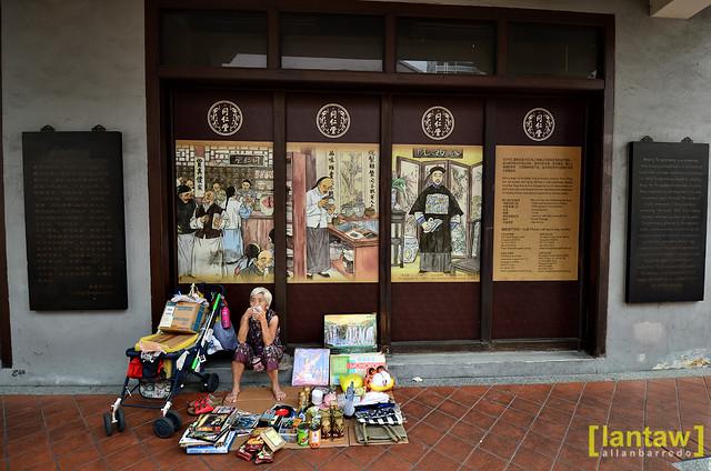 Singapore Chinatown: Street Vendor