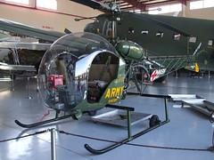 1954 Bell 47G MASH 4077 56-143170
