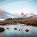 2014 Skye Easter - Sligachan River And Cuillins At Dawn by Birm