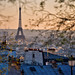Sunset from Montmartre by A.G. Photographe