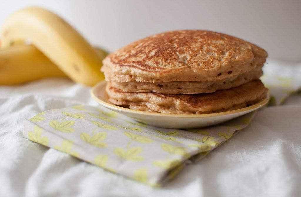 Whole Wheat Banana Pancakes 7