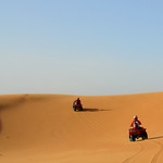 Por las dunas de Marruecos con el quad
