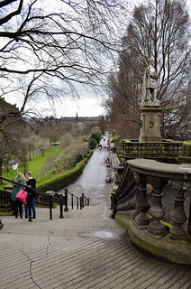 Near Edinburgh Castle